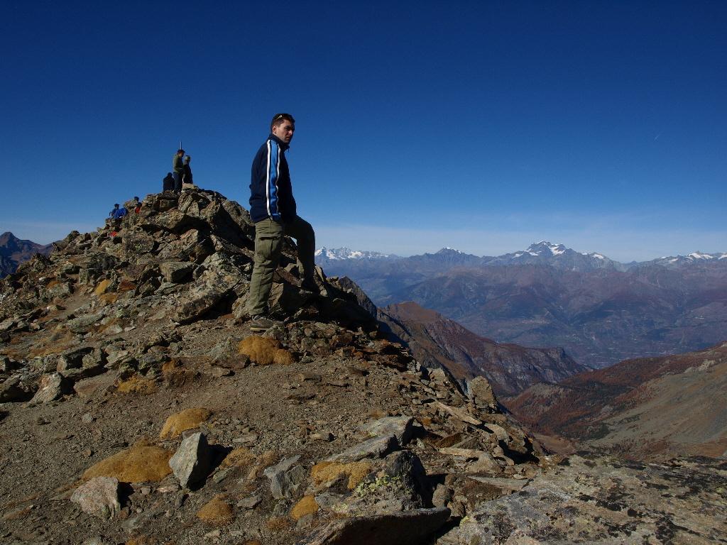 La cima del Glacier