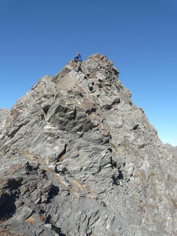 Marco sulla cresta