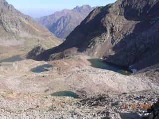 Laghi Superiori di Valscura, Caserma Longà e Lago Inferiore di Valscusa (veduta dalla Bassa)