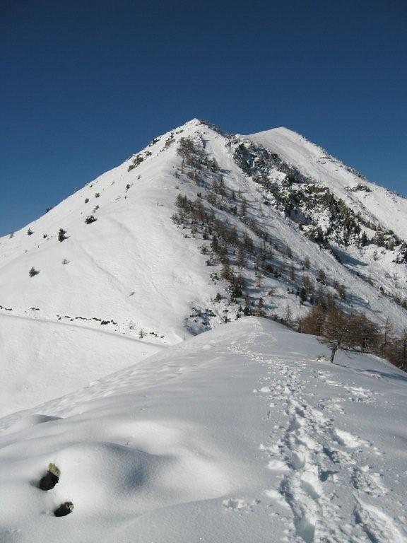 Monte Rastcias dalla cima