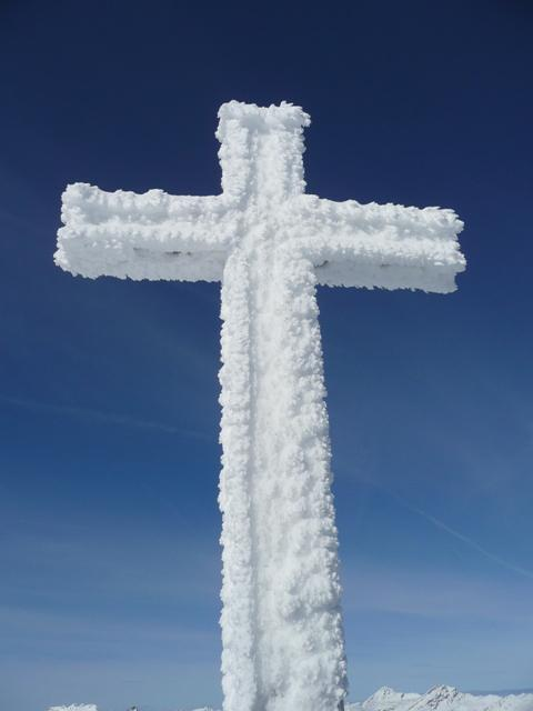 Suggestiva croce di vetta