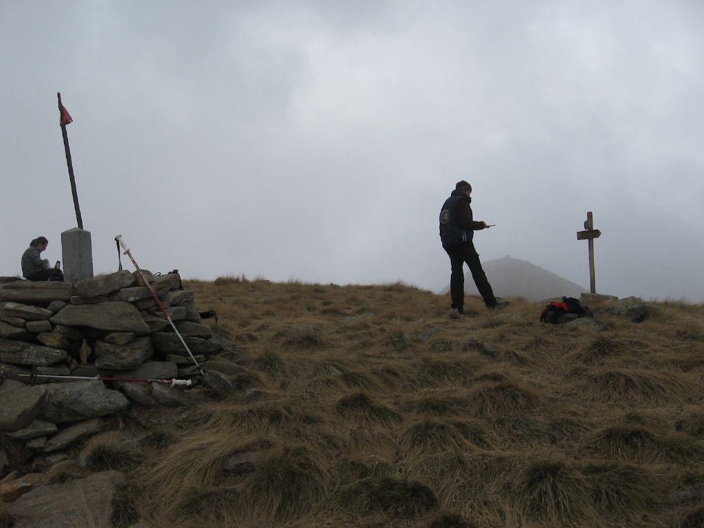 In cima al Monte Gregorio