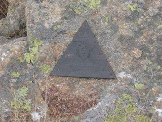 Triangolino di vetta del Cai Rivarolo