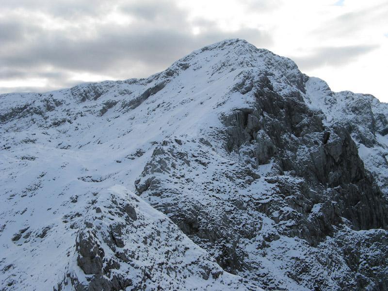 La cresta di Piancaformia.