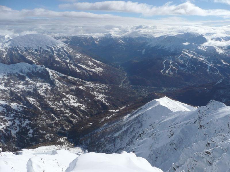 bardonecchia vista dalla cima