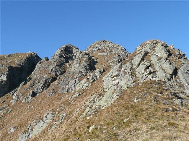 Le varie cime del Gavala.