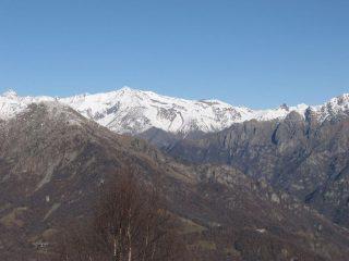 Panorama su Punta Tersiva e Monte Rosa dei Banchi