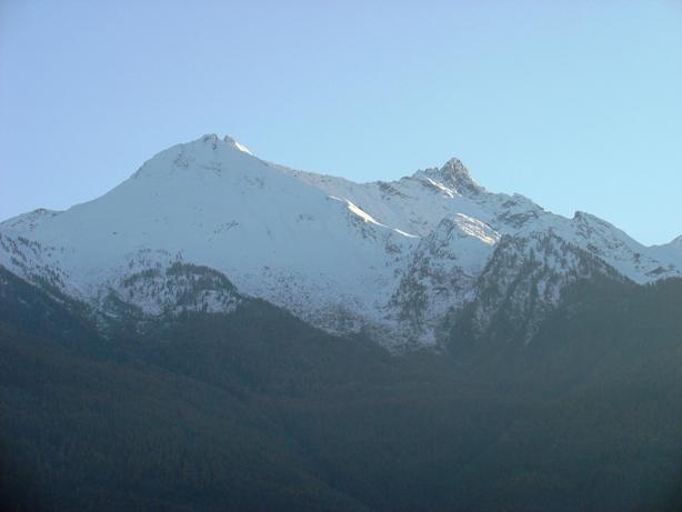 Il panorama dell'envers: L'Orsiera.