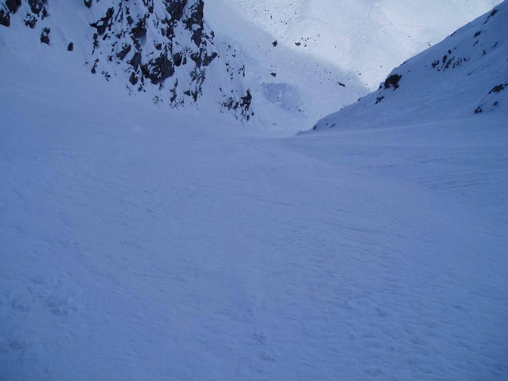 Couloir Bianco parte bassa