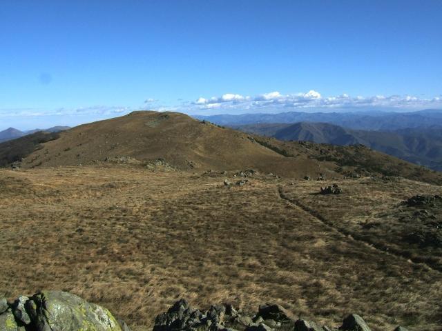 Il Monte Reixa dalla cima