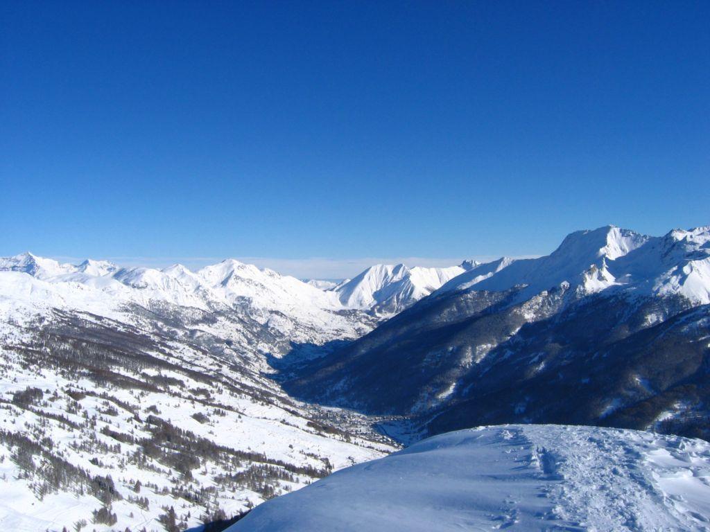 La Val Chisone imbiancata