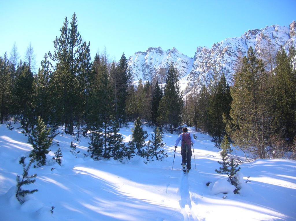 Il sentiero che dall' Alpe Quicord (1650m ca.) sale all' Alpe Pana (1829m).