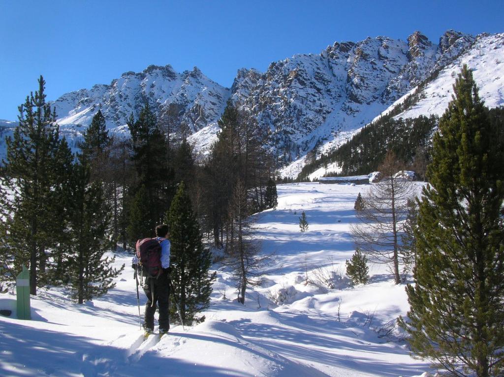 L'Alpe Pana (1829m). Sullo sfondo il Mon Grimon (2523m) e la costiera che lo collega al Bec di Nona (2331m).