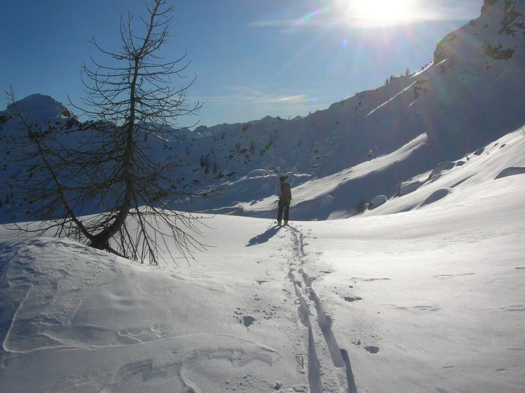 Col Cima Piana (230 m ca.) dal versante Boccoueil.