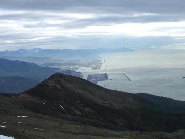Il Golfo di Genova dalla cima