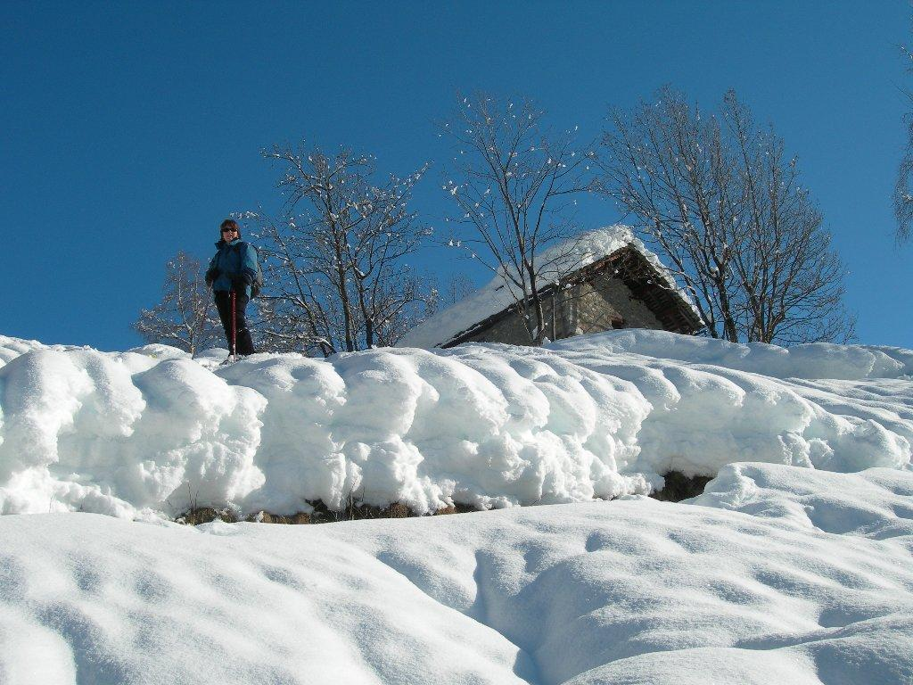 muri di neve