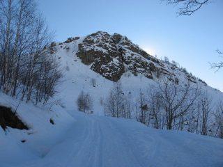 Versante nord-ovest del Monte Calvo