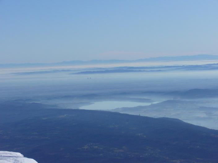 panorama su lago di Viverone