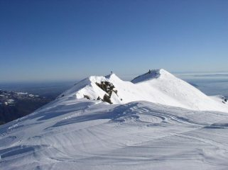 la cresta oltre la cima