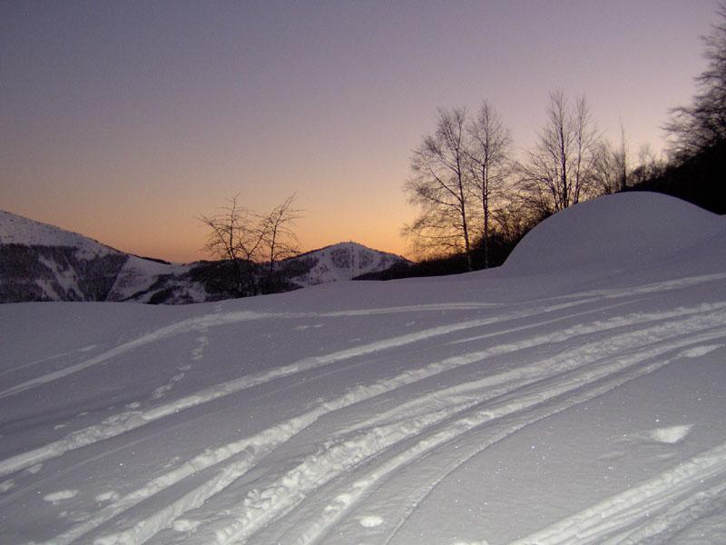 Tramonto sul Col del Lys