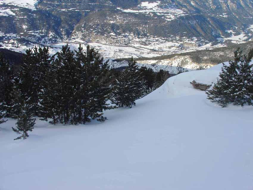 Inizia la discesa dal balcone sulla Maurienne