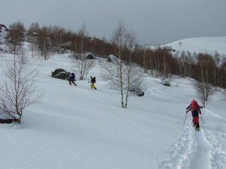 Salendo al Monte Cucco