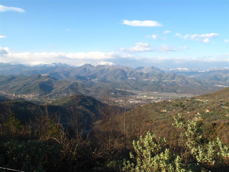 Verso le Alpi Liguri la bufera