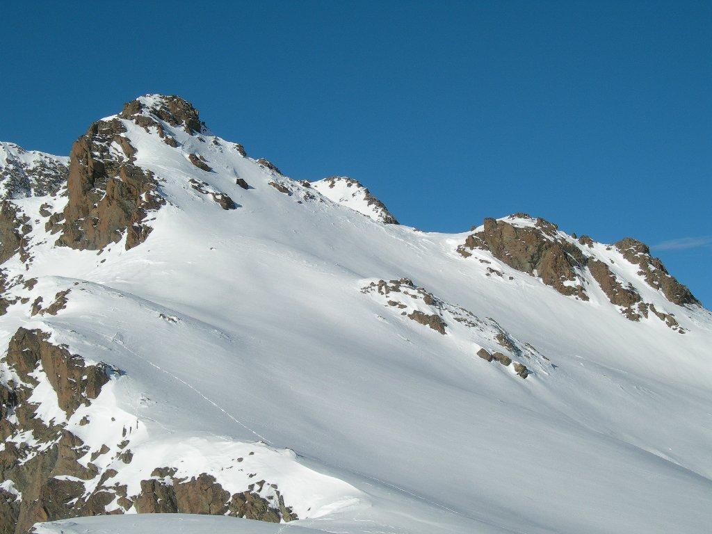 Mont Tors, a destra il colletto