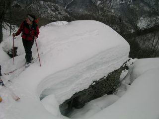 Baite di Bonavalle - Due metri di neve!