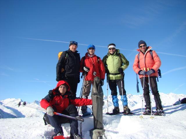 gruppo sul monte Soglio