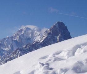 Veduta dal Tellier verso Monte Bianco