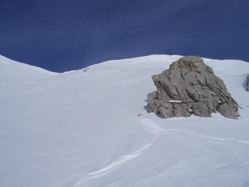 parte alta(neve durissima)