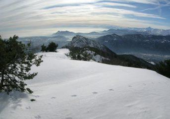 panorama su rocca sella e sui laghi di Avigliana