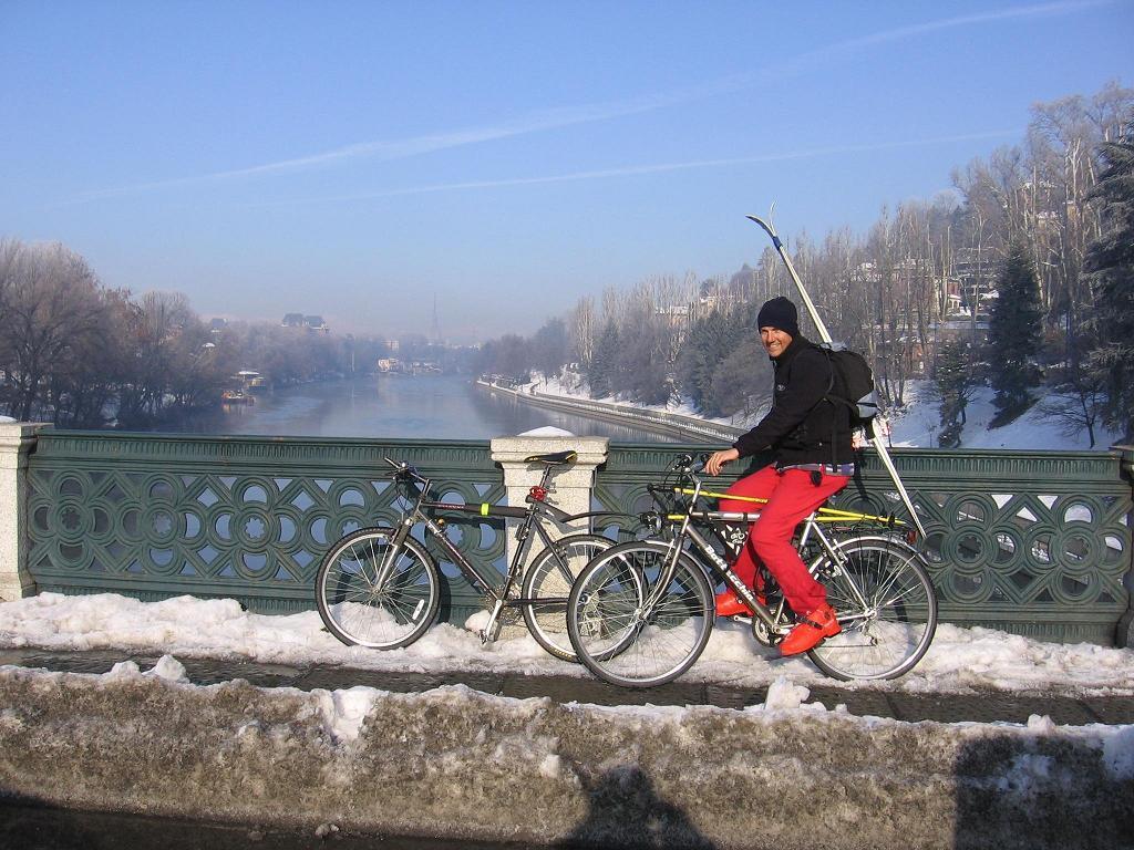 Ritorno in bici al ponte Isabella