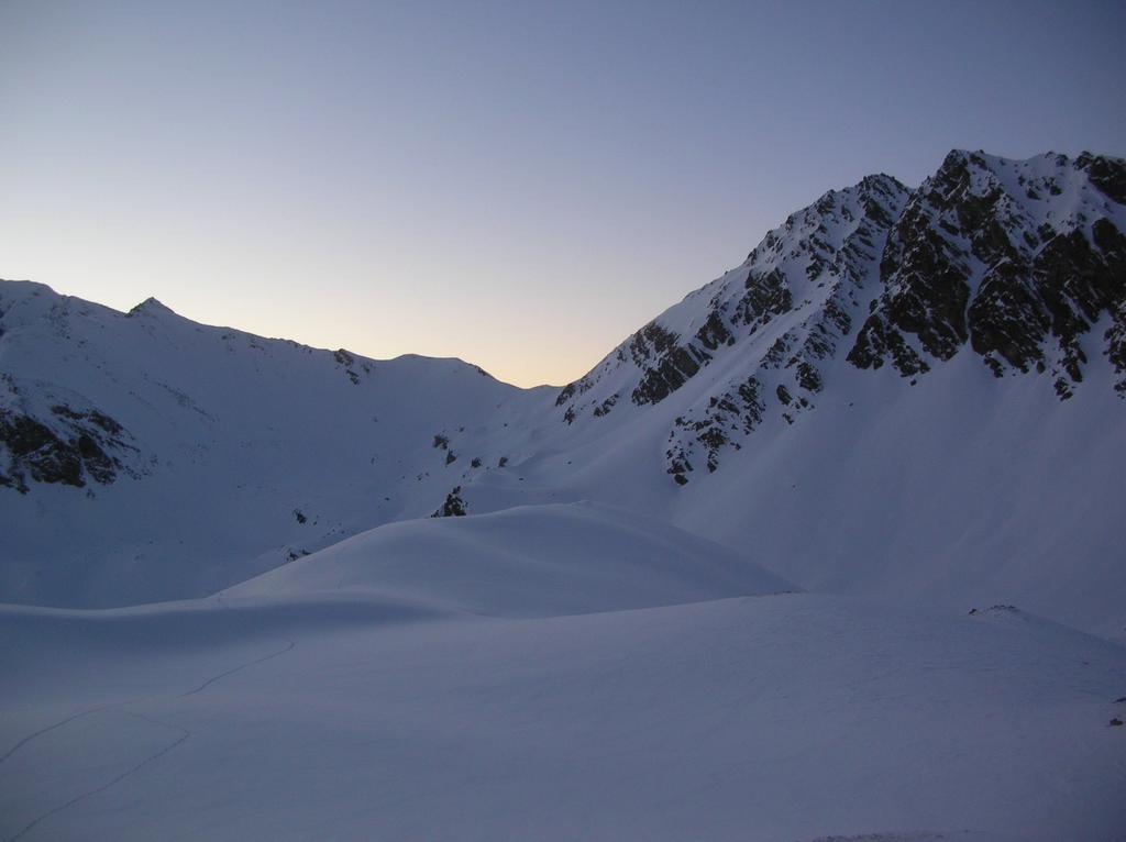 Colle di Saint Barthelemy (2645m) salendo al Col Léche.