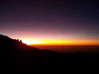 Un'alba incredibile!