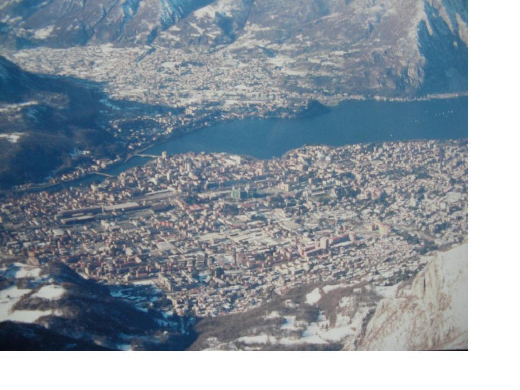 Lecco e il lago dal Resegone...