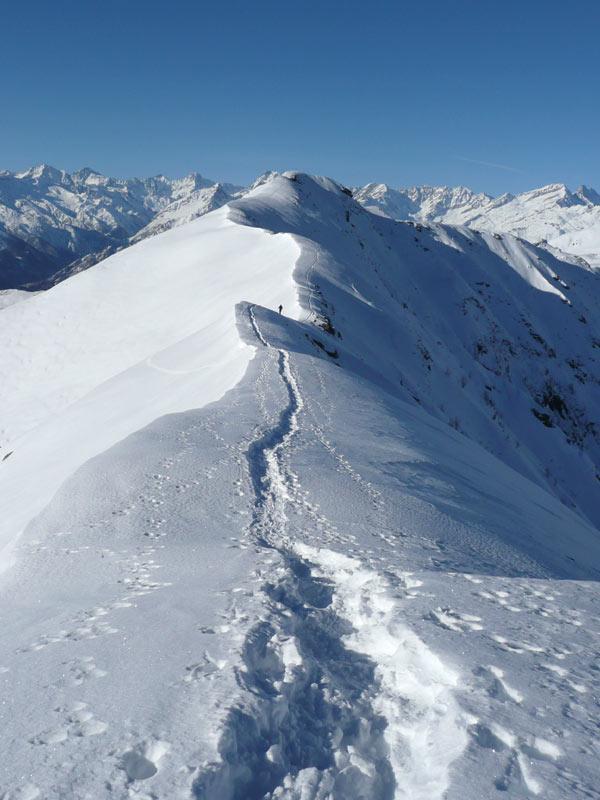 cresta fra le due cime