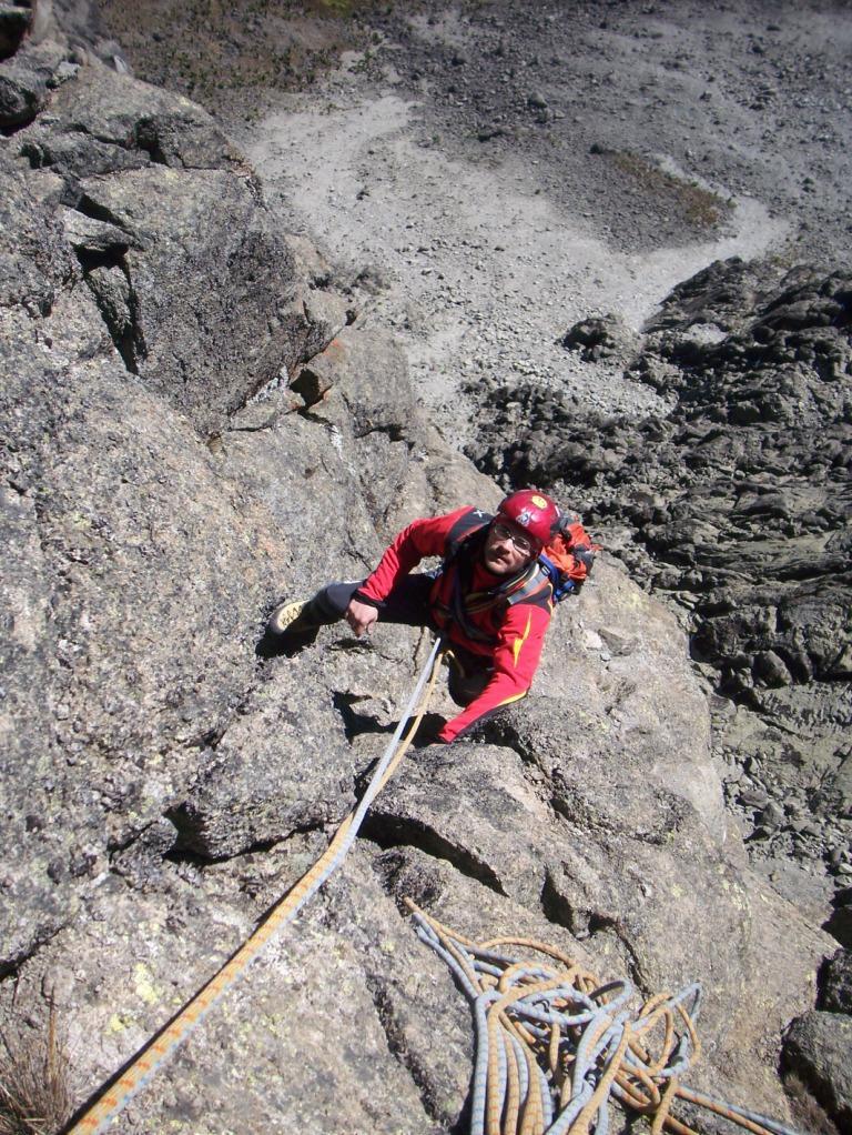 Kenya (Mount) Point Peter Sud Ridge 2009-01-14