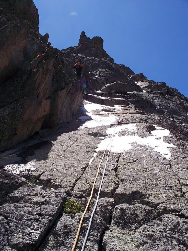 Kenya (Mount) Point Dutton NE Face and Ridge 2009-01-15