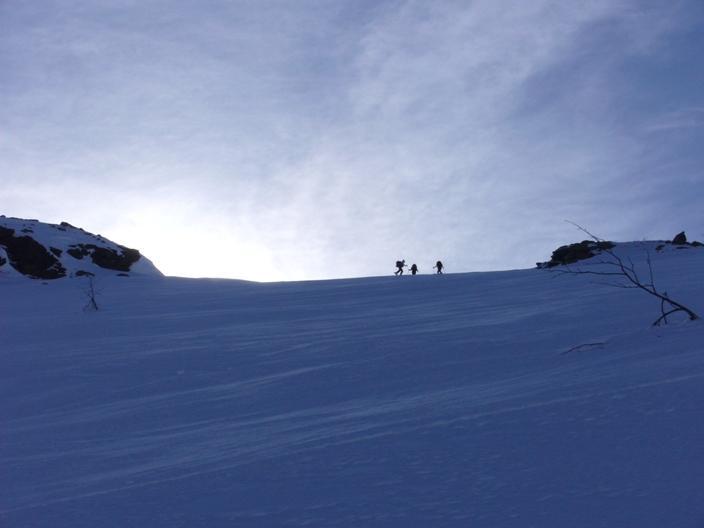 Salendo alla cima Vallone