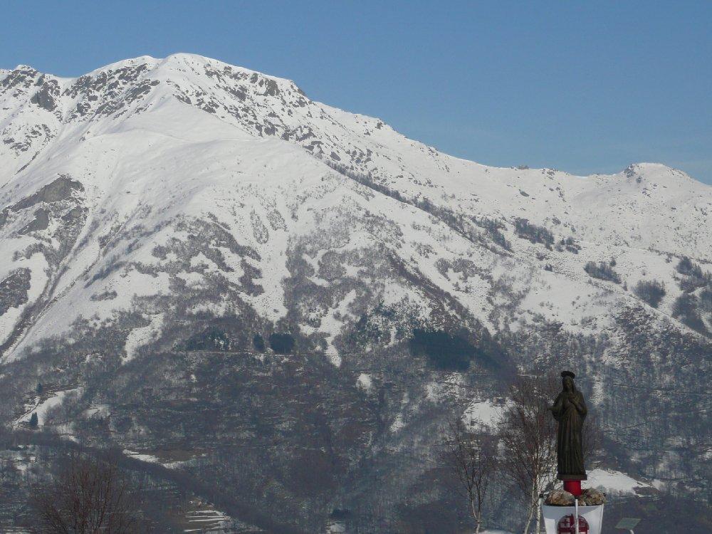 Verso il Monte Gregorio.