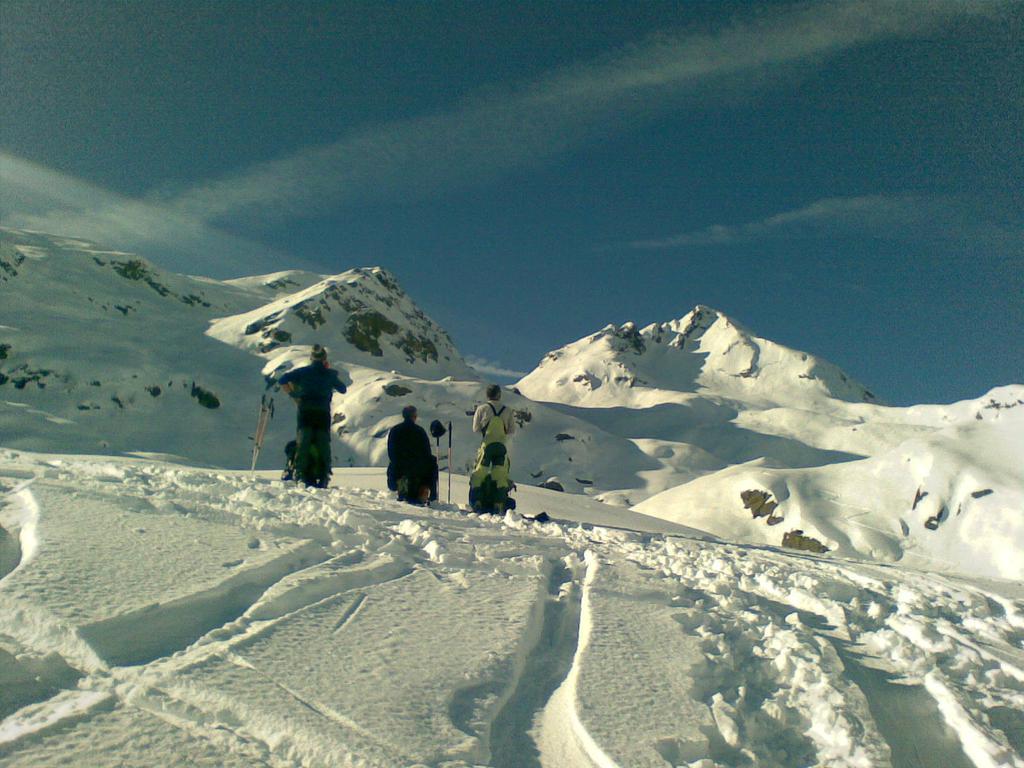 Salendo al Gran Munt, Cima di Rubbia sullo sfondo