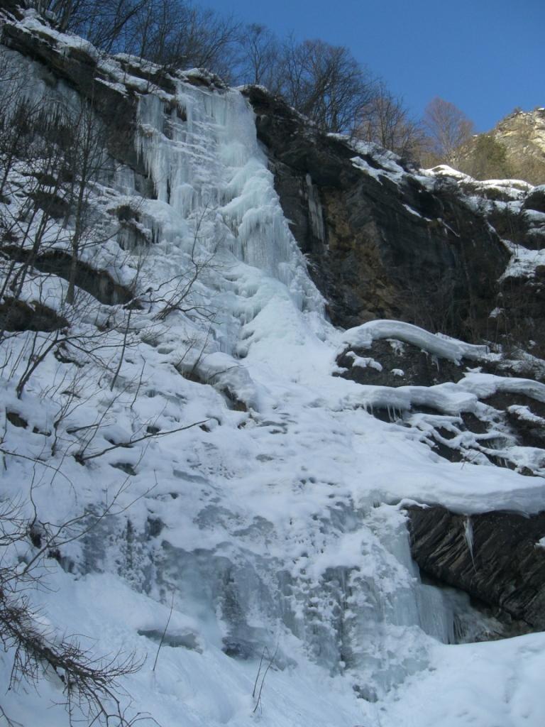 La cascata di Canosio
