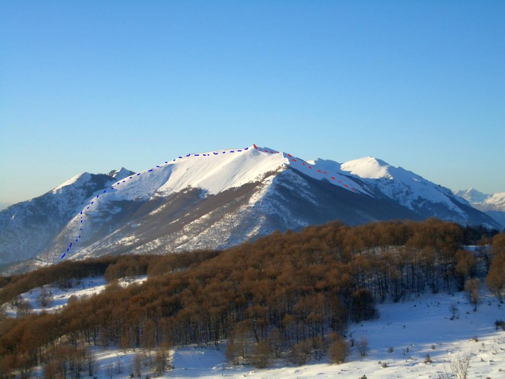 Mileto (Monte) da Passo S.Leonardo 2010-10-19