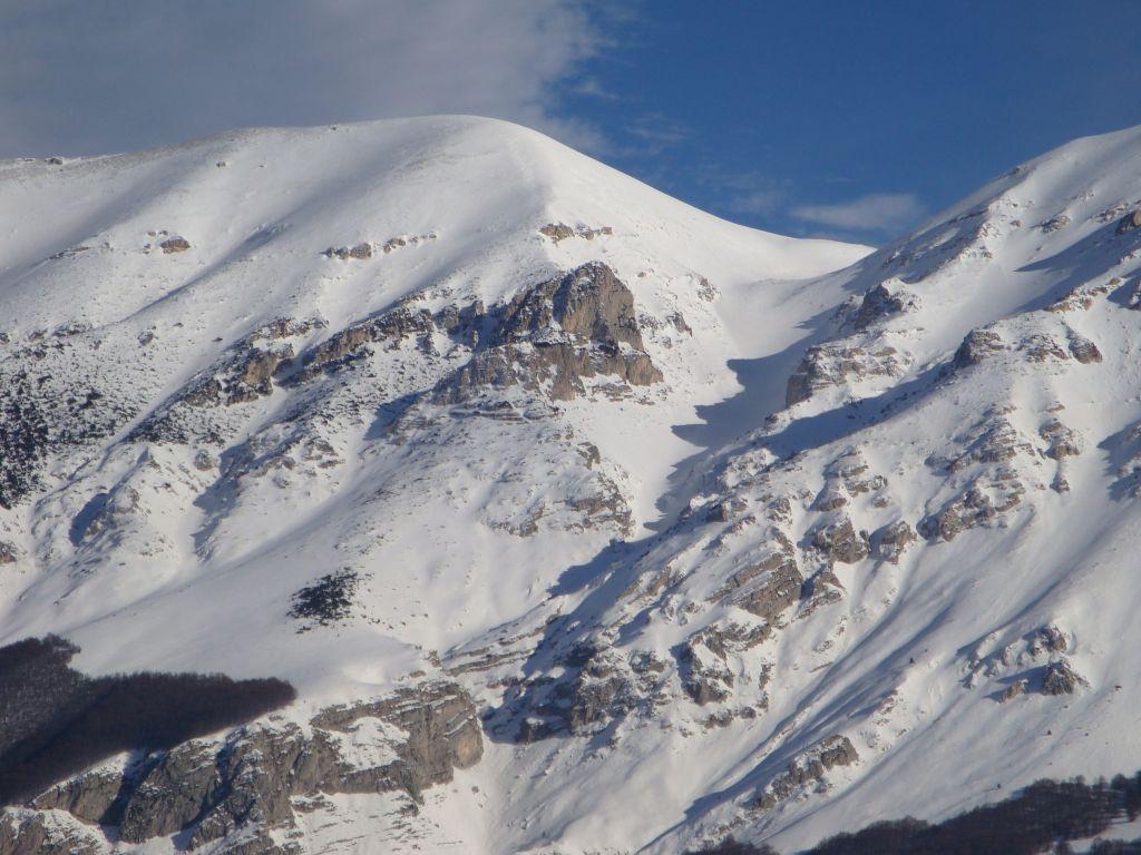 Pescofalcone (Monte)Rava del Ferro 2009-01-19