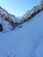 sentiero a Mirabouc
