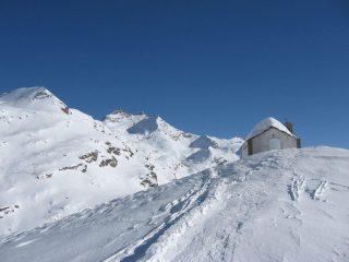 In vista della chiesetta della Madonna della Neve