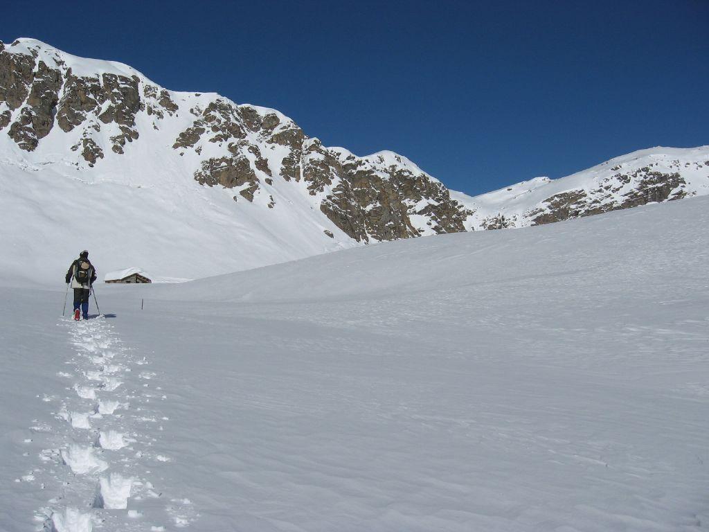 Leonardo in arrivo all'Alpe Agnel