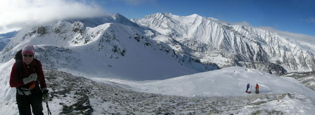 Panorama dalla Punta Chiarlea al Monte Selletta